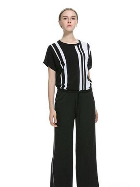 卡伊奴女装品牌2019春夏新款时尚韩版风格短袖T恤