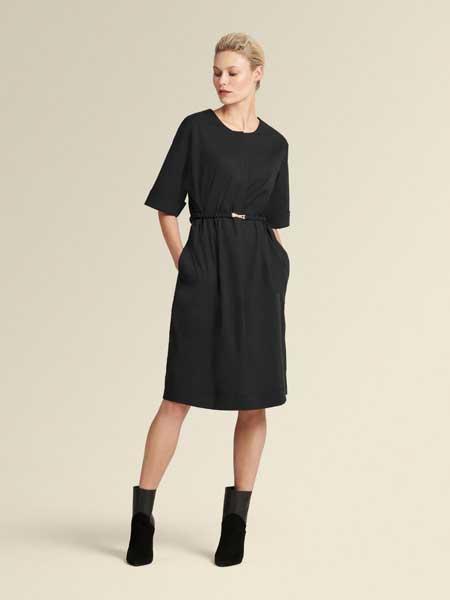 Donna Karan唐娜·凯伦女装品牌2019春夏新款时尚性感甜美气质连衣裙