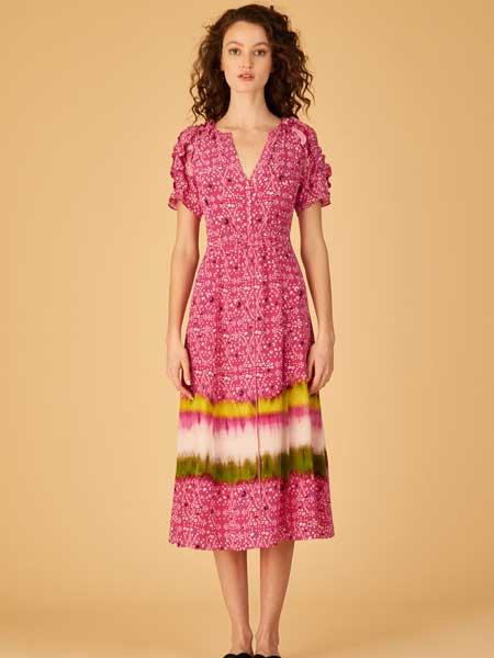 坦尼娅·泰勒女装品牌2019春夏新款时尚韩版修身显瘦气质连衣裙