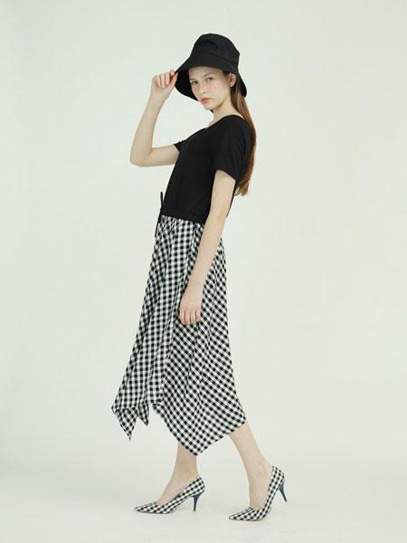 子容女装品牌2019春夏俏皮洋气裙时髦两件套