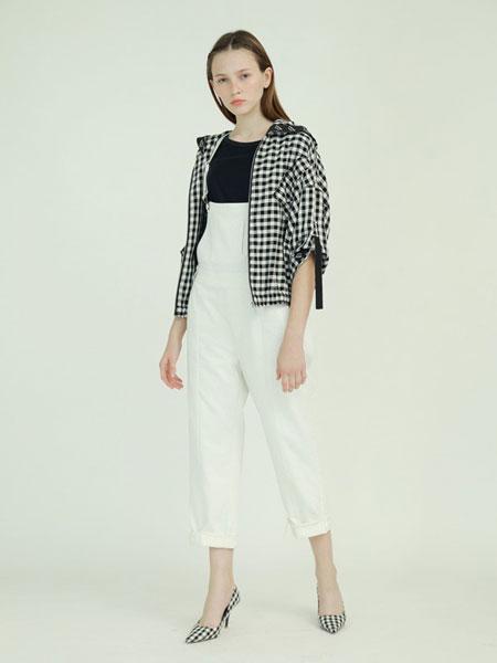 子容女装品牌2019春夏宽松休闲牛仔棉夹克短外套