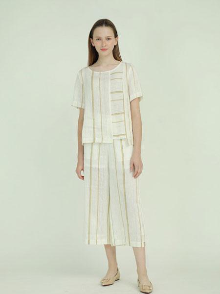 子容女装品牌2019春夏新款两件套法国小众御姐洋气套装