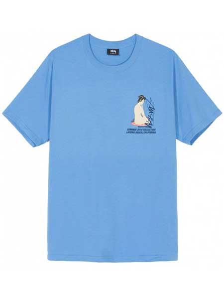 斯图西彩75注册品牌2019春夏新款韩版时尚宽松百搭圆领短袖T恤