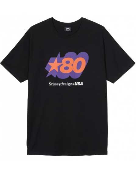 伯爵勃朗男装品牌2019春夏新款韩版时尚宽松百搭圆领短袖T恤