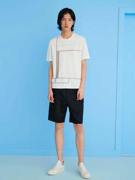 写生系男装品牌2019春夏新款韩版时尚休闲潮流圆领短袖t恤