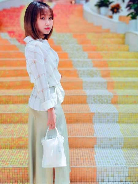 CARING PARK女装品牌2019春夏新款韩版洋气长袖上衣潮学生宽松衬衣