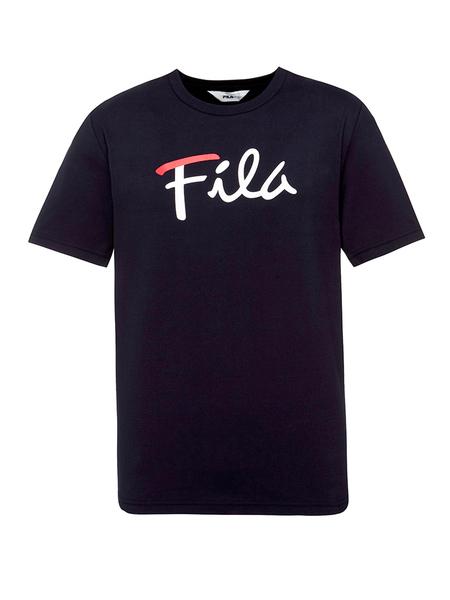 FILA斐乐休闲品牌2019春夏新款时尚休闲宽松百搭圆领短袖T恤