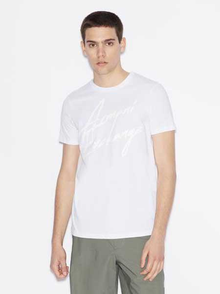 Armani ExchangeA/X男装品牌2019春夏新款韩版时尚宽松休闲百搭圆领短袖T恤