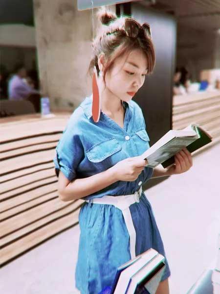 幻彩四季女装品牌2019春夏新款韩版显瘦短袖小清新气质连体裤