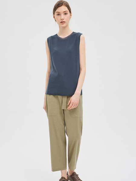 SJSJ女装品牌2019春夏新款港风宽松休闲显瘦长裤