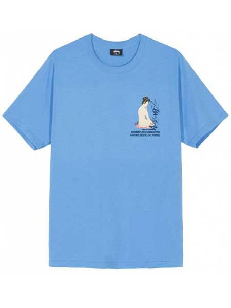 ADOLFO DOMINGUEZ男装品牌2019春夏新款韩版时尚休闲宽松百搭圆领短袖T恤