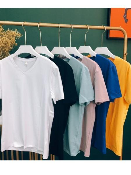 网红爆款防水防污圆领短袖T恤