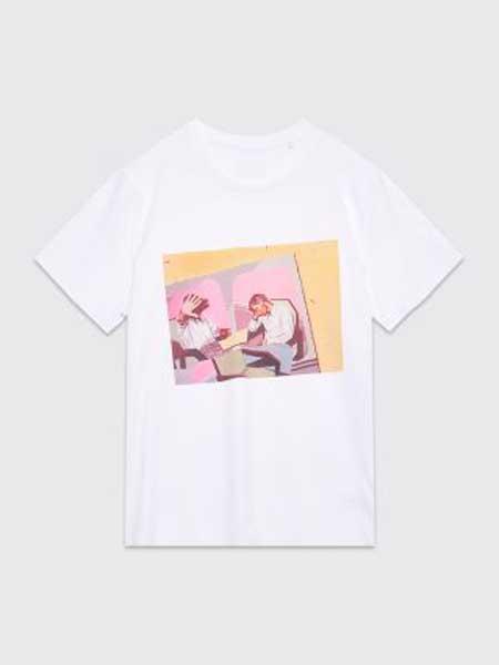 MASTRUM男装品牌2019春夏新款韩版时尚休闲宽松百搭圆领短袖T恤