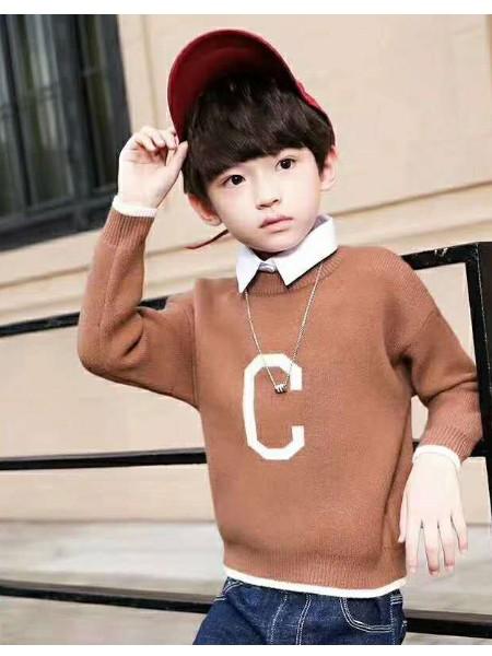 一线品牌童装韩国ins童装品牌2019秋季新品