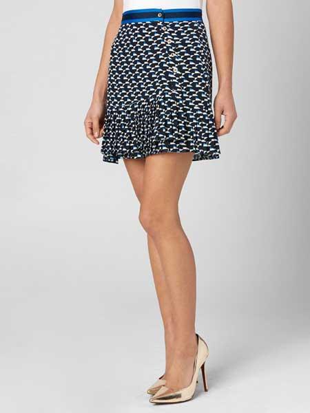 Juicy Couture橘滋女装品牌2019春夏新款修身显瘦包臀短裙半身裙