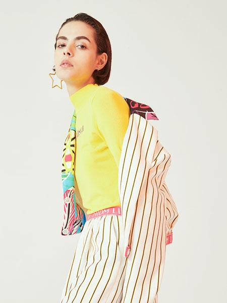 天猫|Kerr&Kroes智慧门店女装品牌2019春季 领子花版拼接收腰短外套