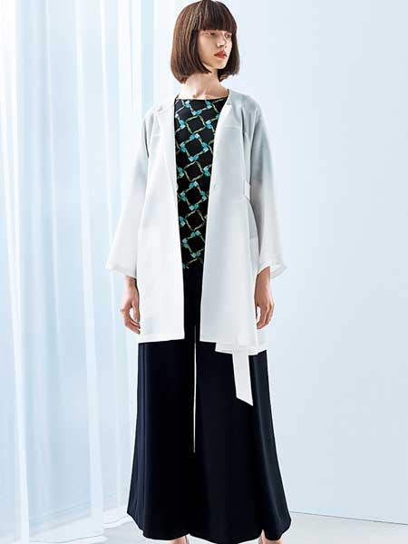 Hanae Mori森英惠女装品牌2019春夏新款冰丝外套女开衫中长袖款针织薄款宽松防晒服