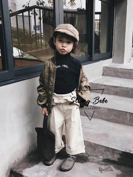 强壮贝贝StrongBebe品牌童装折扣货源童装品牌2019秋季新品