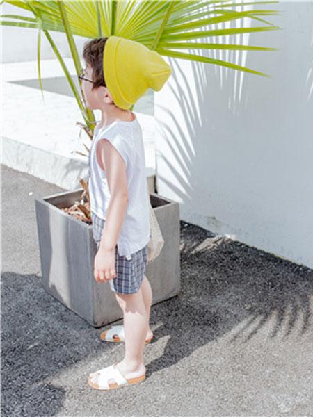 南童魔NEO&TOM/蒂萨纳D`sana童装品牌2019春夏中童洋气短袖上衣格子裤套装休闲棉麻