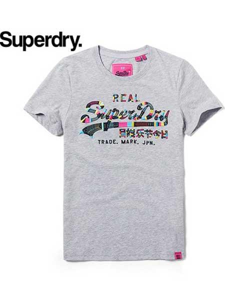 极度干燥休闲品牌2019春夏新款韩版时尚休闲宽松百搭圆领短袖T恤