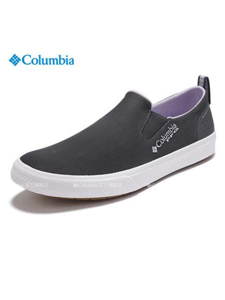 Columbia哥伦比亚户外品牌2019春夏新款钓鱼系列女一脚套休闲鞋