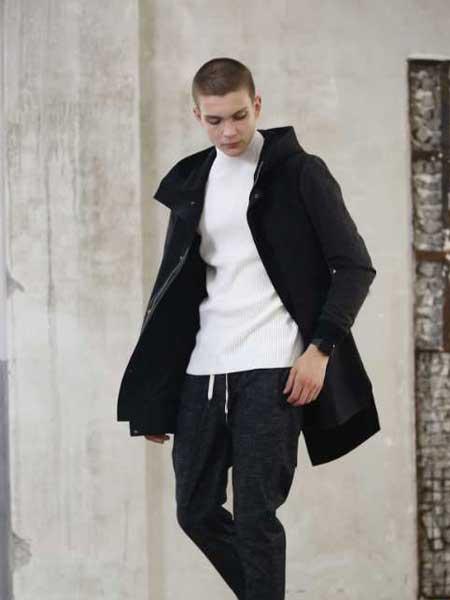 玖生活男装品牌新款时尚休闲宽松百搭中长款外套