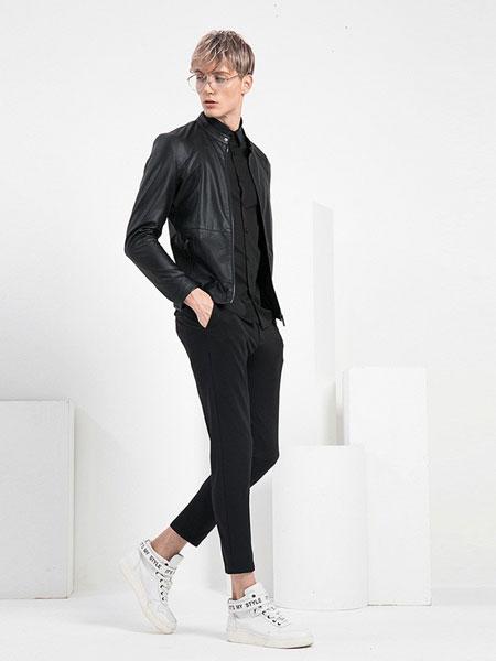 V.SHOLIDAY男装品牌2019春夏新品潮流修身休闲百搭立领