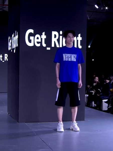坦缔斯男装品牌2019春夏新款韩版简约字母印花bf宽松短袖T恤