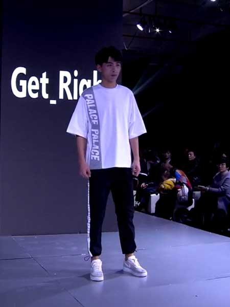 坦缔斯男装品牌2019春夏新款嘻哈街头韩版潮流时尚印花短袖T恤