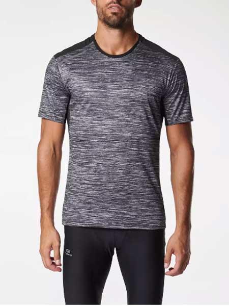 Decathlon迪卡侬运动装品牌2019春夏新款时尚休闲透气圆领短袖T恤