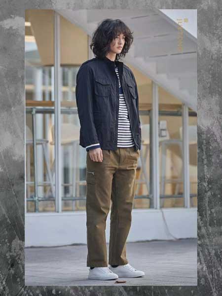 觉同JUETONG男装品牌新款韩版帅气百搭开衫外套夹克衫