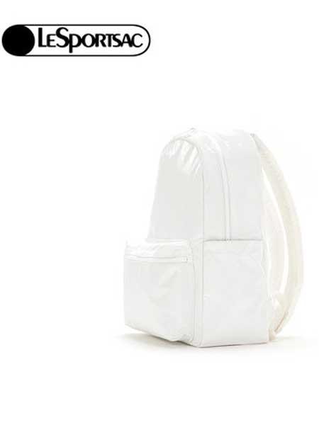 LeSportsac箱包品牌2019春夏新款纯色款休闲学院双肩包背包