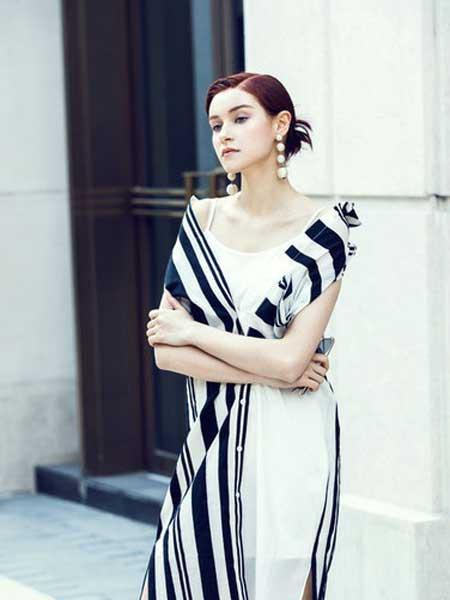DTJLD女装品牌2019春夏新款气质时尚修身显瘦连衣裙