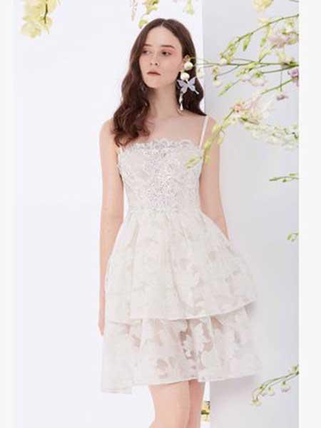 Misi,Camii女装品牌2019春夏新款新款洋装小礼服显瘦名媛时尚连衣裙