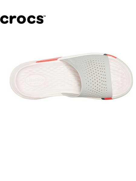 Crocs卡骆驰鞋帽/领带品牌2019春夏撞色厚底外穿家用防滑凉拖
