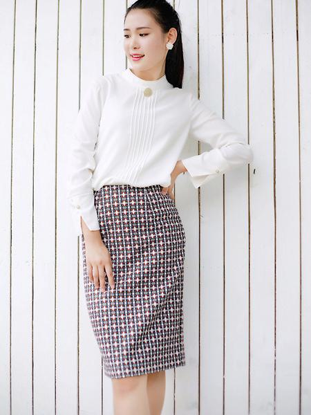 芝仪女装品牌2019秋季新款雪纺衫韩版宽松显瘦洋气小衫白色衬衫上衣