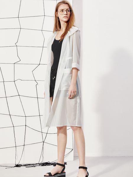 丽芮女装品牌2019春夏披肩外搭中长款防晒开衫