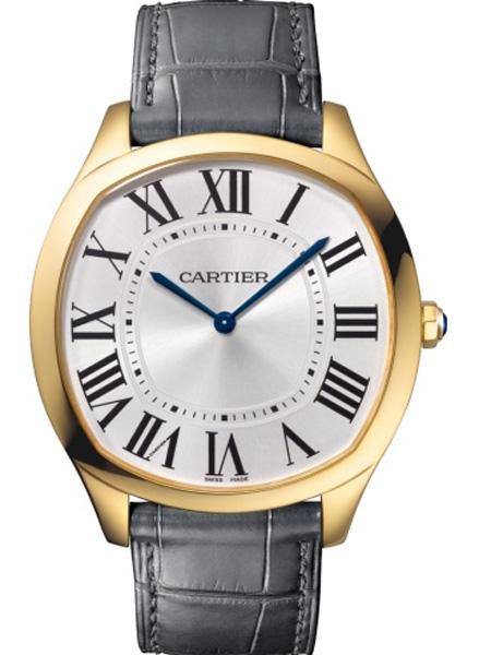 Cartier卡地亚潮流饰品品牌2019春夏新款时尚商务休闲防水手表