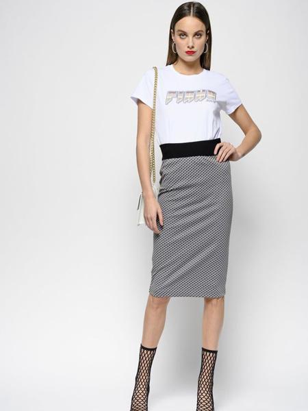Pinko女装品牌2019春夏新款时尚修身显瘦半身裙短裙