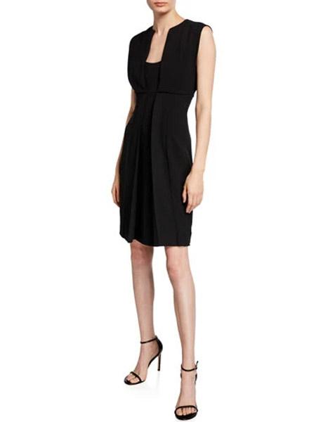吉尼儿女装品牌2019春夏新款 甜美气质收腰修身显瘦连衣裙