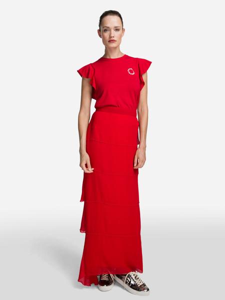 Karl Lagerfeld(卡尔拉格菲尔德)女装品牌2019春夏新款时尚修身显瘦气质连衣裙