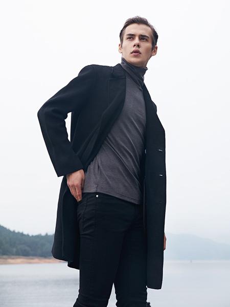 T&X男装品牌2019秋冬新款中长款立领中年商务休闲保暖外套潮