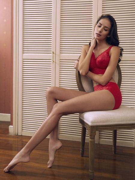 Re Young柔漾内衣品牌2020春夏性感透气聚拢蕾丝文胸罩调整型
