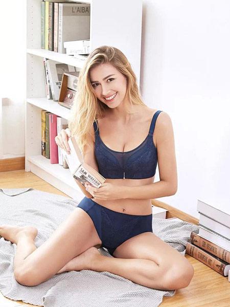 歌兰莉内衣品牌2019春夏薄款大胸显小全罩杯有钢圈聚拢防下垂