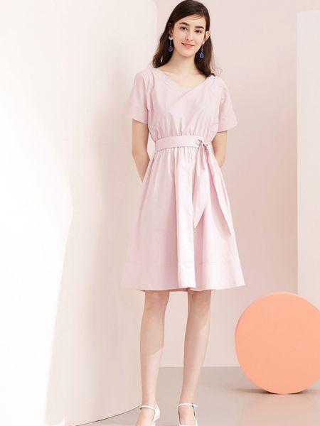 春美多女装品牌2019春夏新款时尚洋气休闲长裙