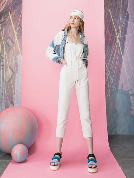 MOOSY女装品牌2019春夏新款休闲气质衬衣抽绳收腰裤