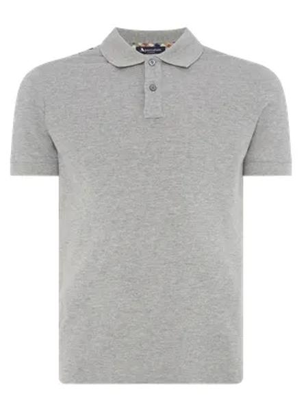 Henry Poole亨利・普尔男装品牌2019?#21512;?#26032;款时尚商务休闲翻领短袖T恤