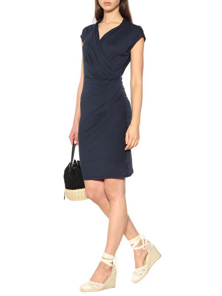 爱乐亦捷女装品牌2019春夏新款小众设计感不对称收腰显瘦连衣裙