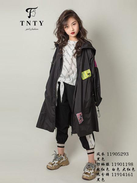 同年同月童裝品牌2019秋冬新款中長款時尚百搭外套