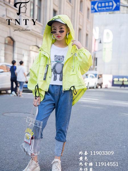 同年同月童装品牌2019秋冬新款流行韩版宽松休闲薄款外套潮